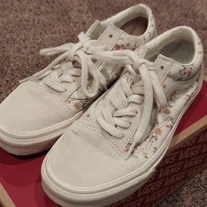 Vans Floral Vintage Sneakers